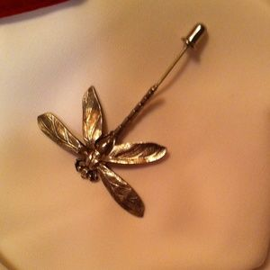Other - Waterford Crystal Dragon Fly Pin